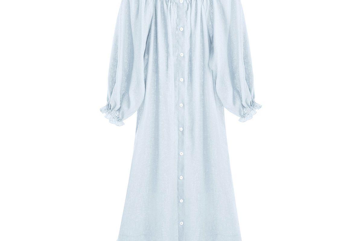 Moonstone Blue Loungewear Dress