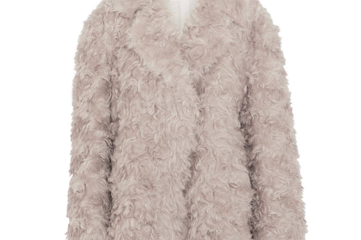 Oversized Mohair Coat