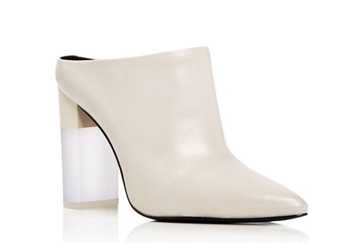 Capri Pointed Toe High Heel Mules