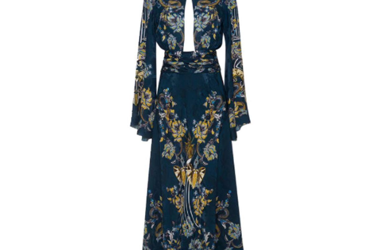 Bell Sleeve Cutout Dress