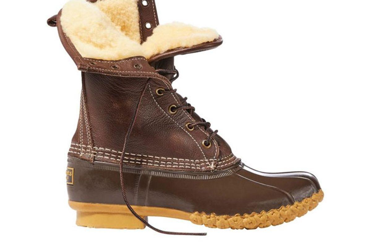 ll bean womens bean shearling lined boots