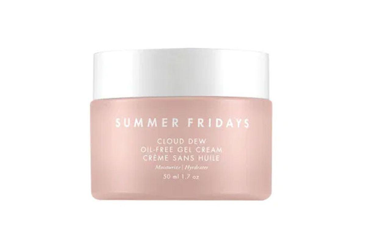 summer fridays cloud dew oil free gel cream moisturizer