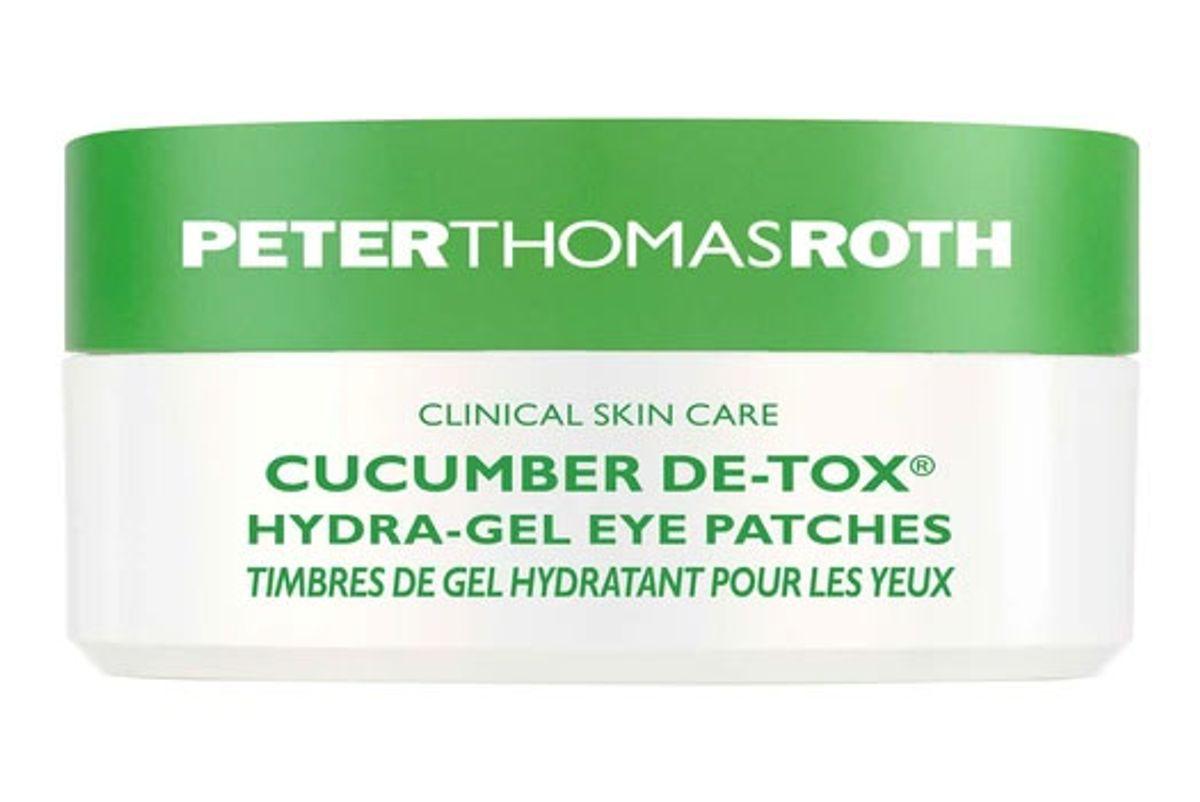 peter thomas roth cucumber detox hydra gel eye patches