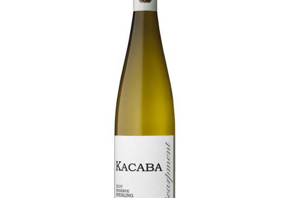 kacaba 2019 reserve riesling