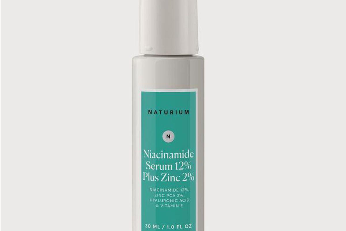 naturium niacinamide serum 12 percent plus zinc 2 percent
