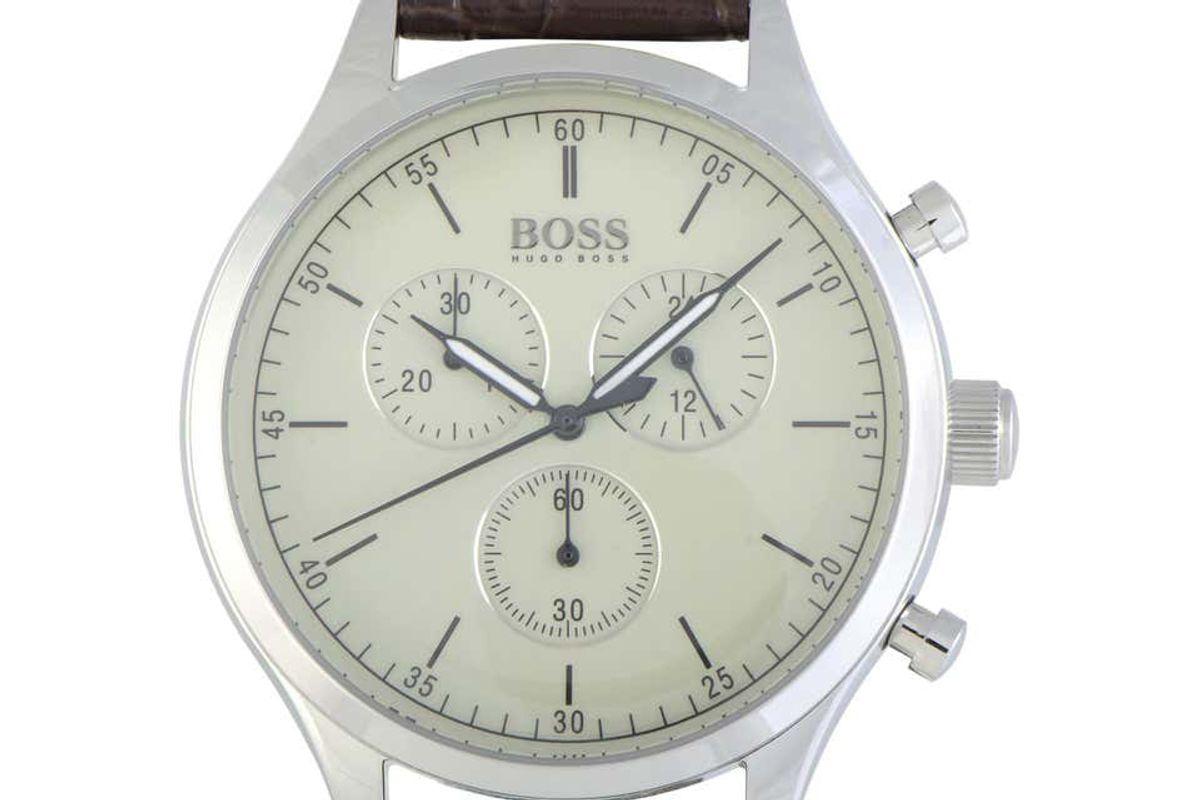 hugo boss companion chronograph 1513544 mens watch