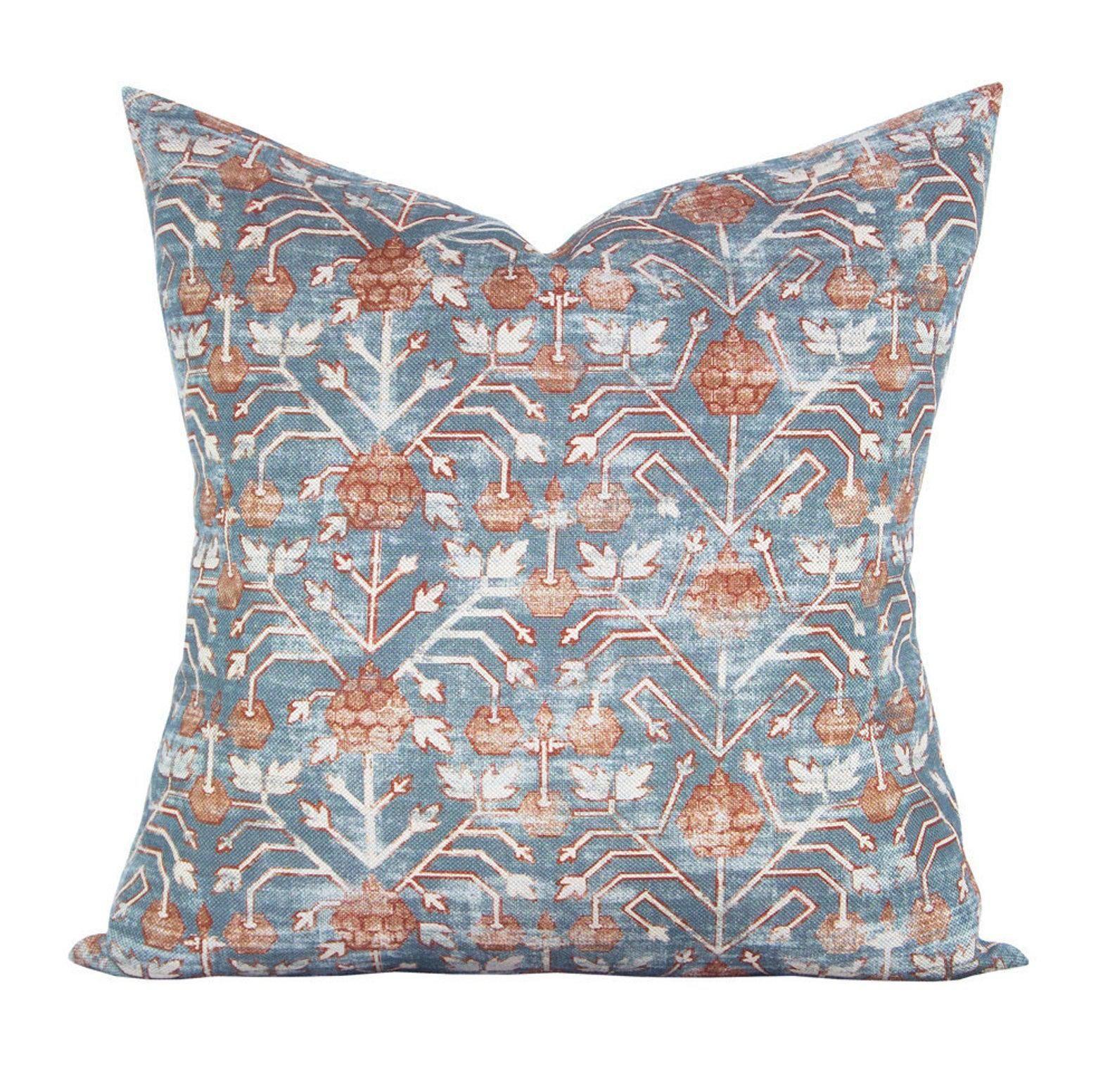 Khotan Rubia Pillow Cover