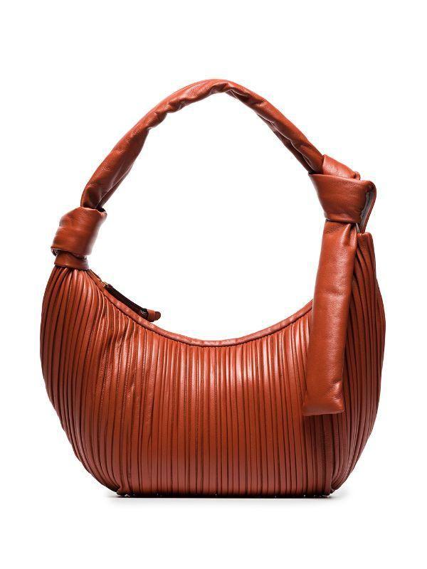 Neptune Plissé Shoulder Bag