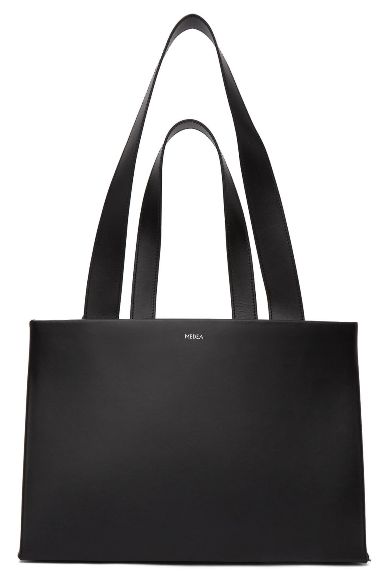 Black Double Belt Handle Dieci Bag