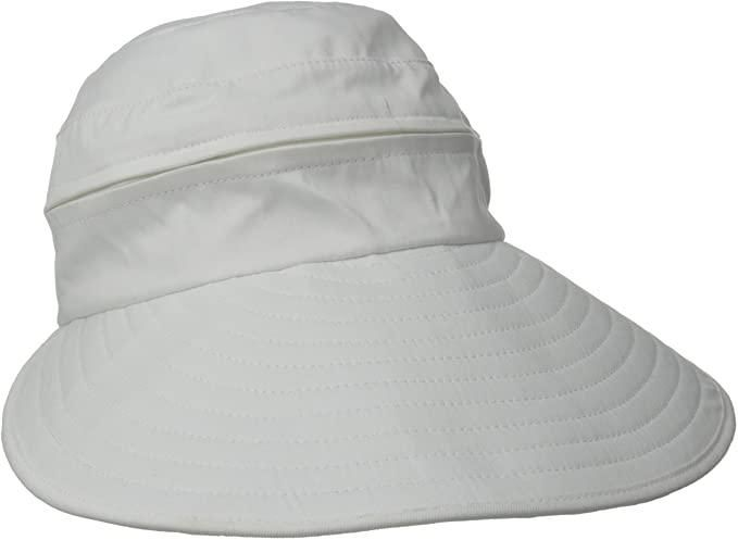 Naples Cotton Packable Cap & Visor Sun Hat