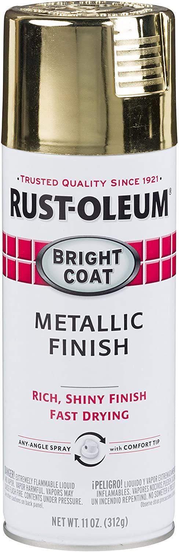 7710830-2PK Stops Rust Bright Coat Metallic Spray Paint