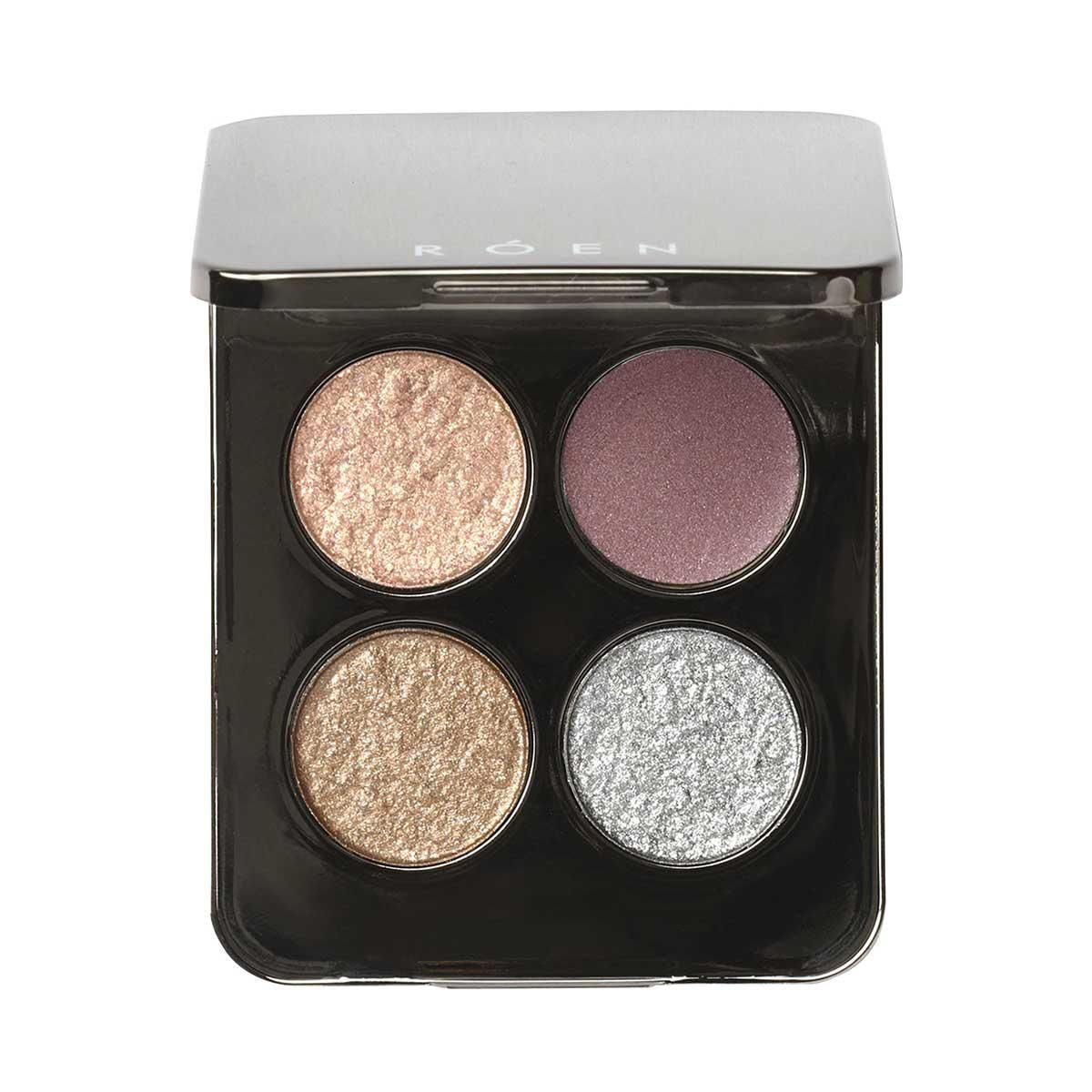 roen beauty 52 degrees cool eye shadow palette
