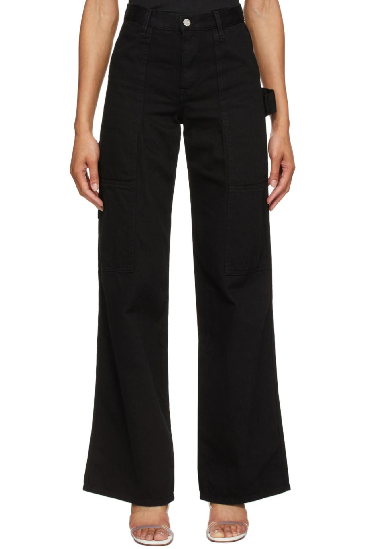 Black Utility Jeans