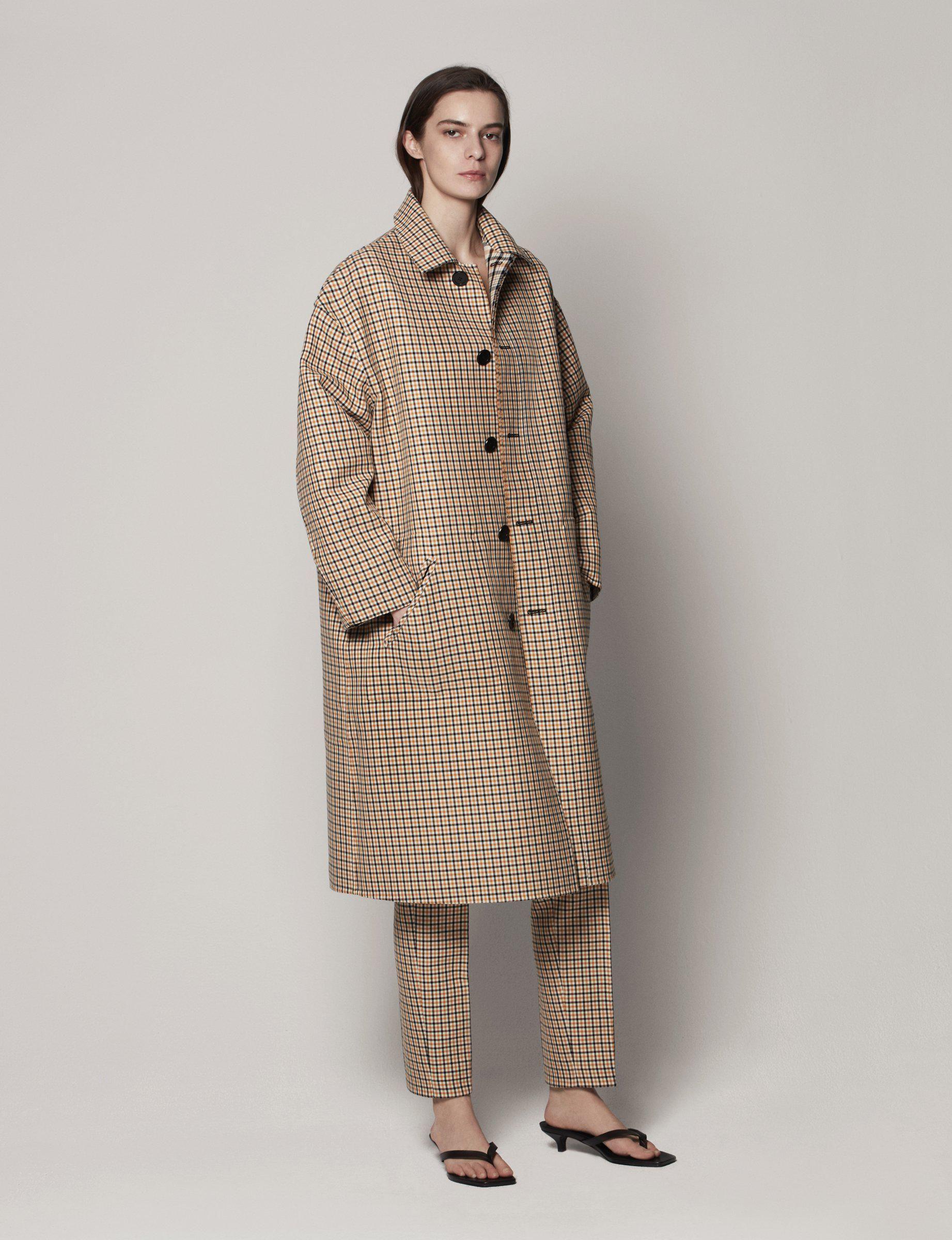 Oversized Mac Coat