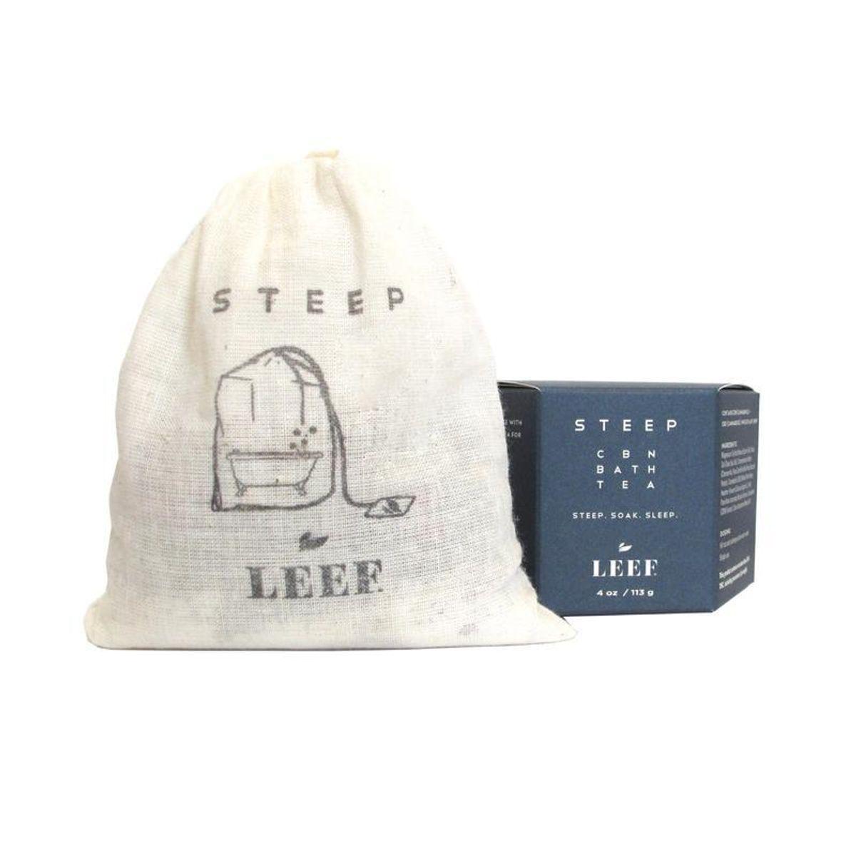 leef steep cbn bath tea