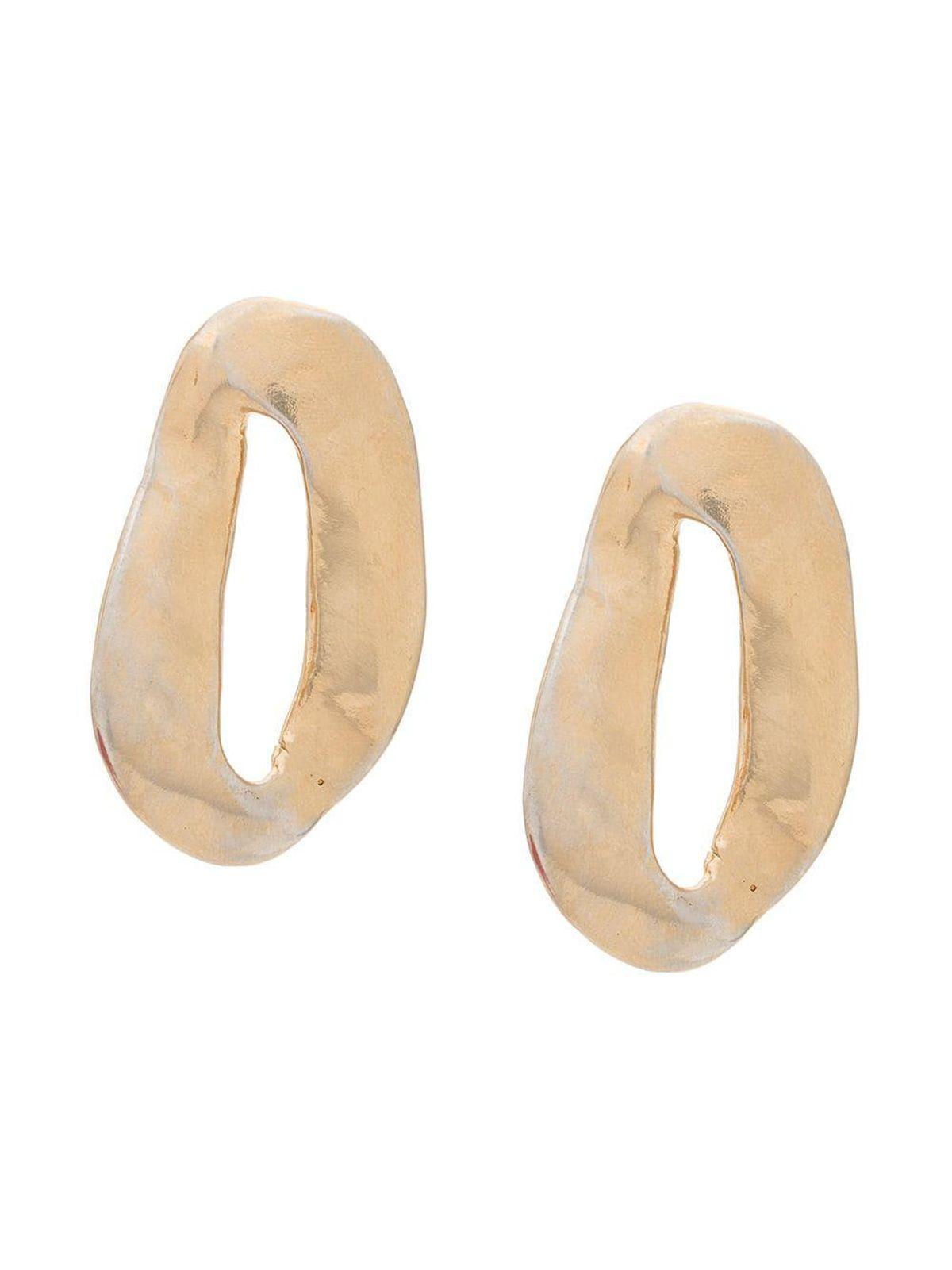 Chunk Hoop Earrings