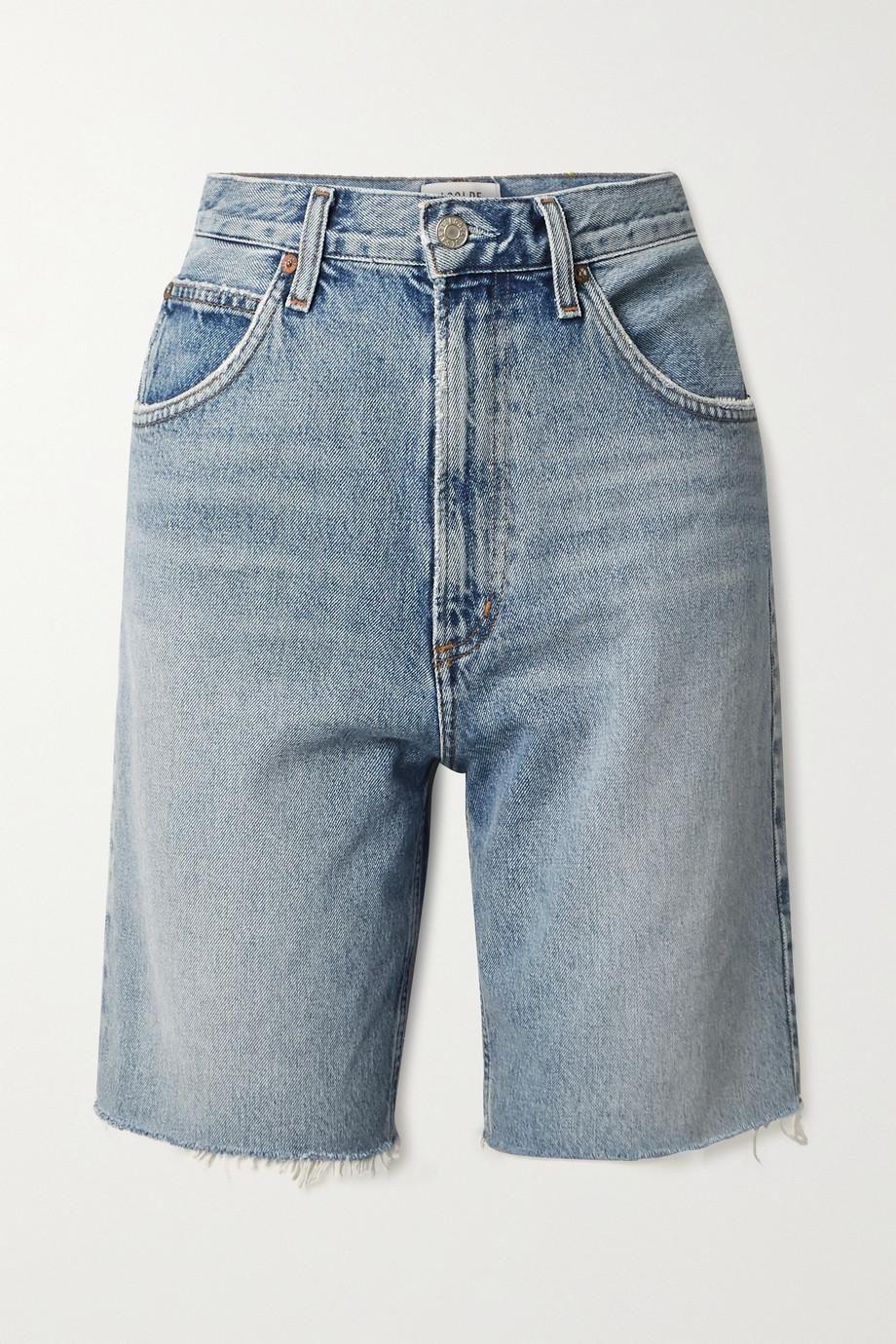 Pinch Distressed Organic Denim Shorts