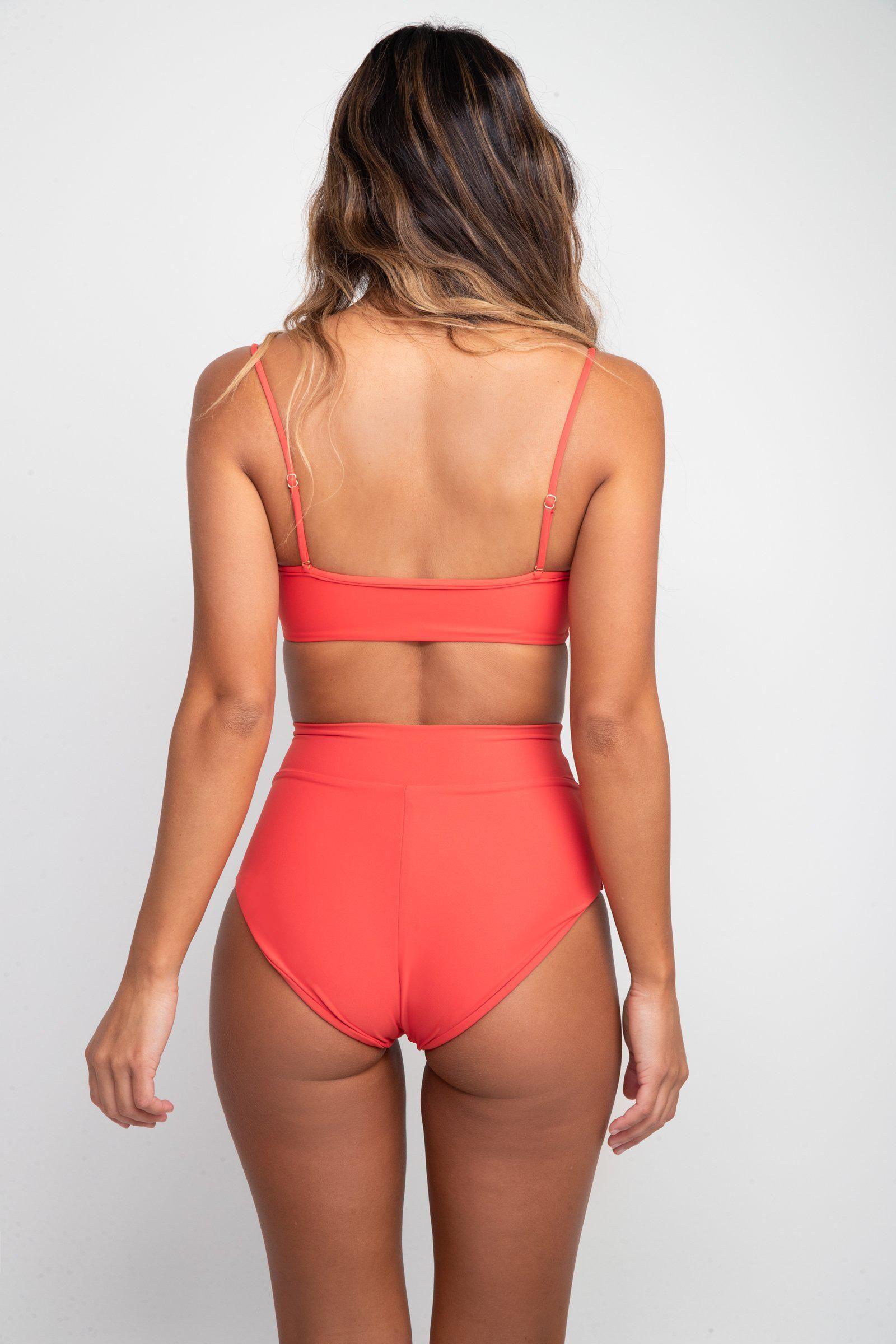 Scarlette Bottom - Red