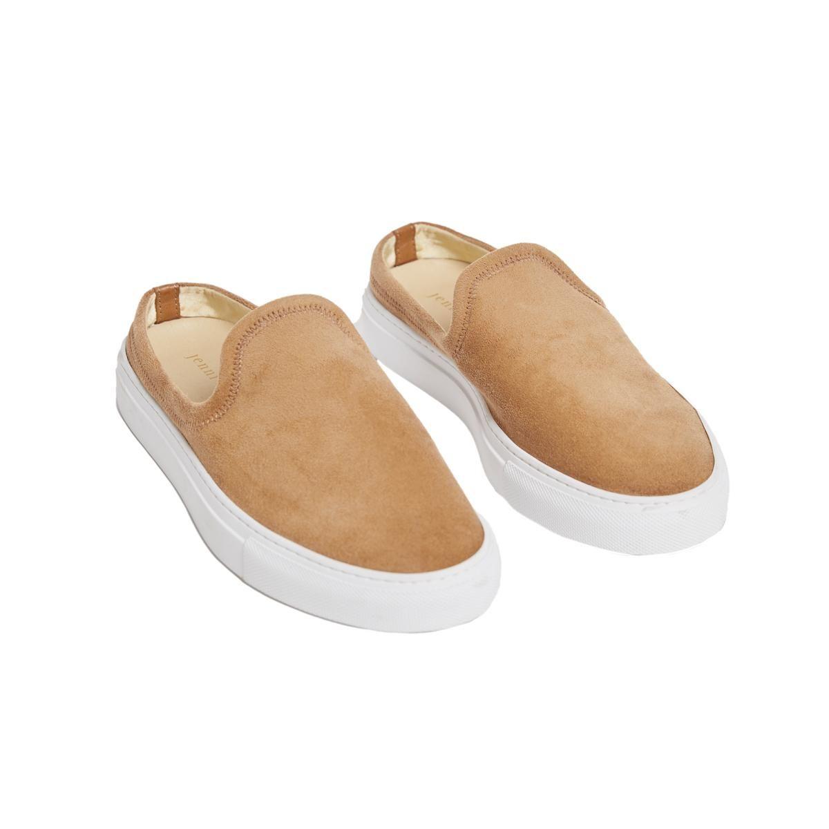jenni kayne suede slide sneaker