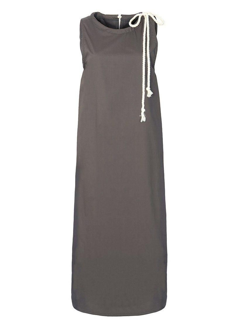 Sleeveless Rope Midi Dress