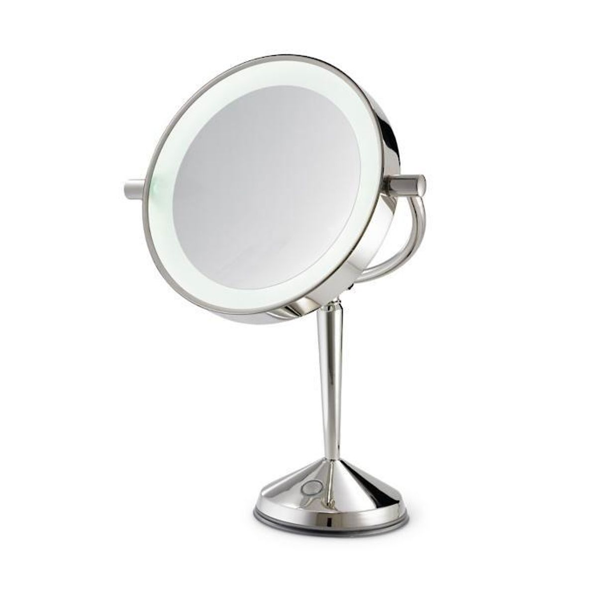 frontgate led articulating rechargeable vanity mirror