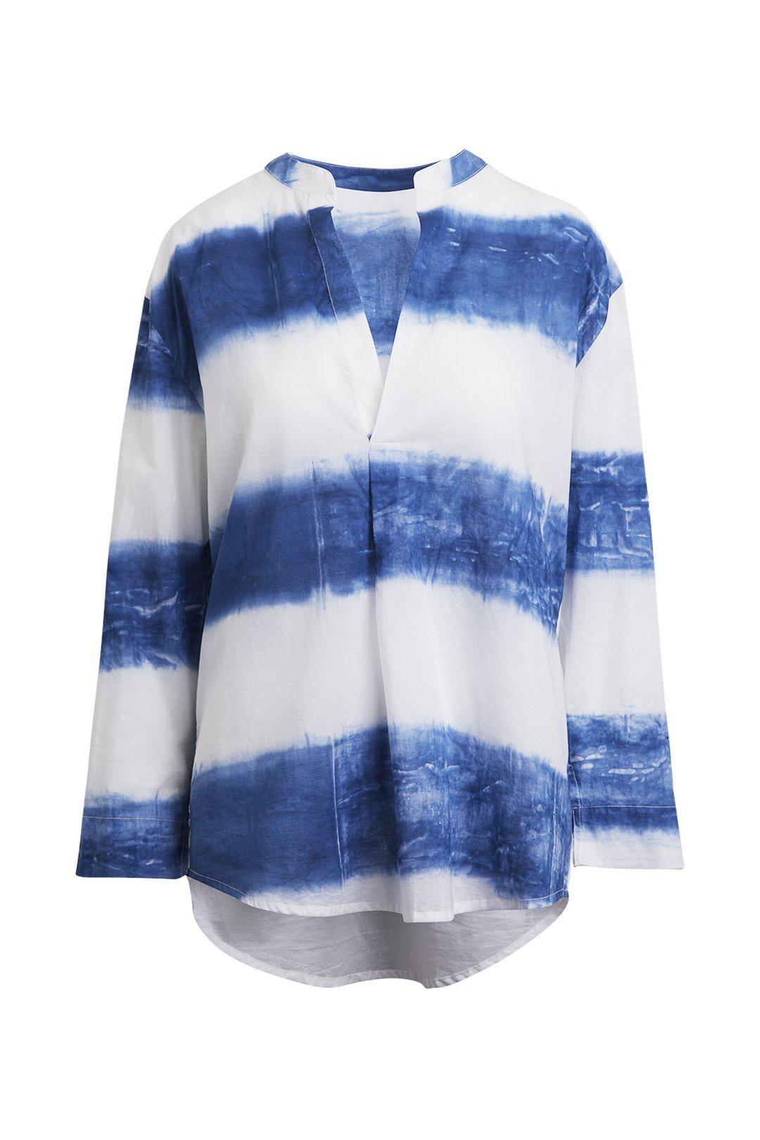 Kirsten Rough Stripe Shirt