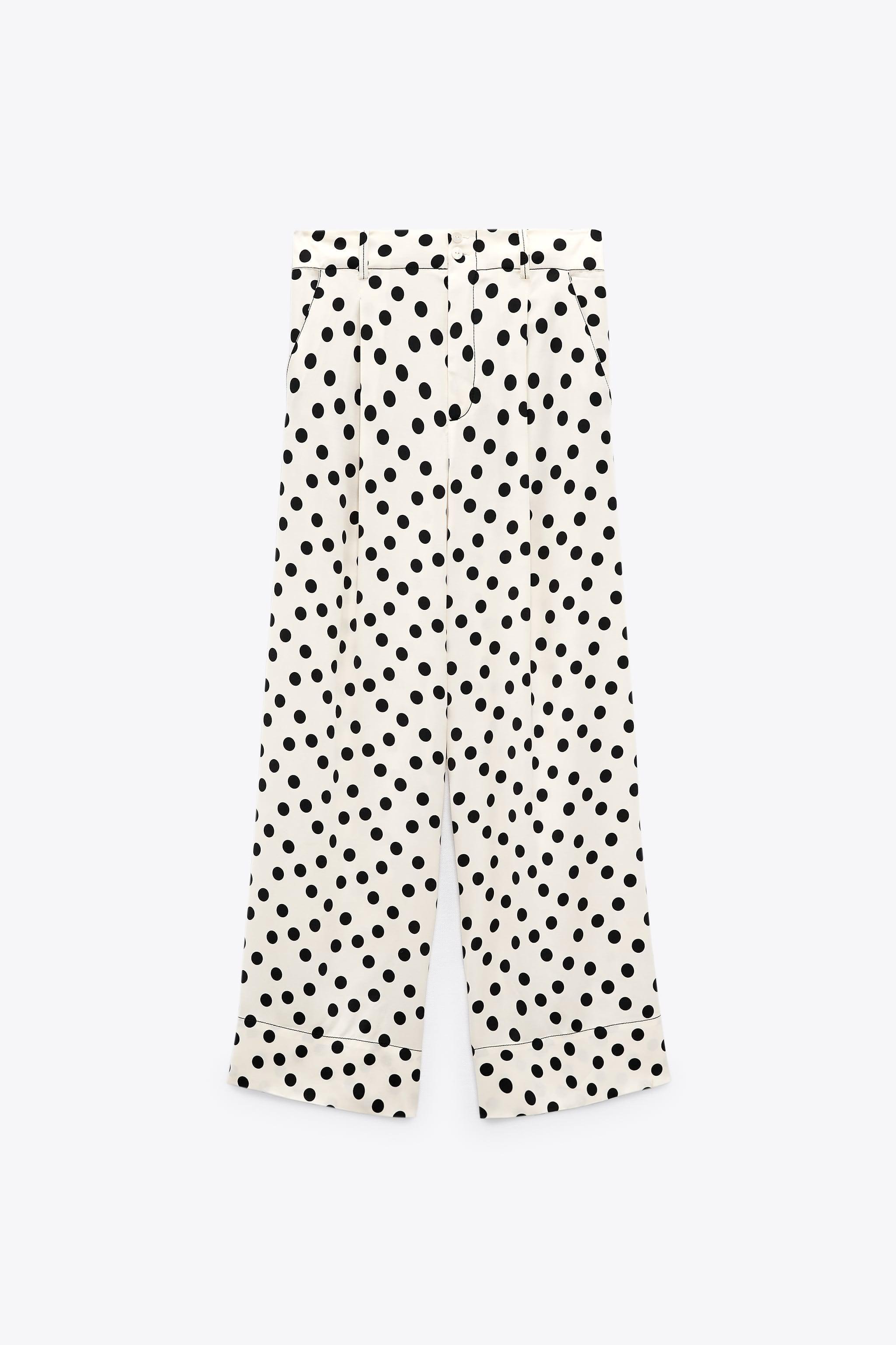 Flowy Polka Dot Pants