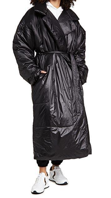 Oversized Sleeping Bag Coat