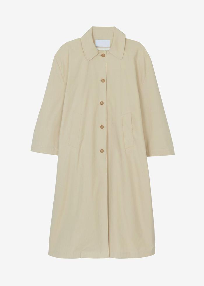 Phoebe Box Shoulder Overcoat