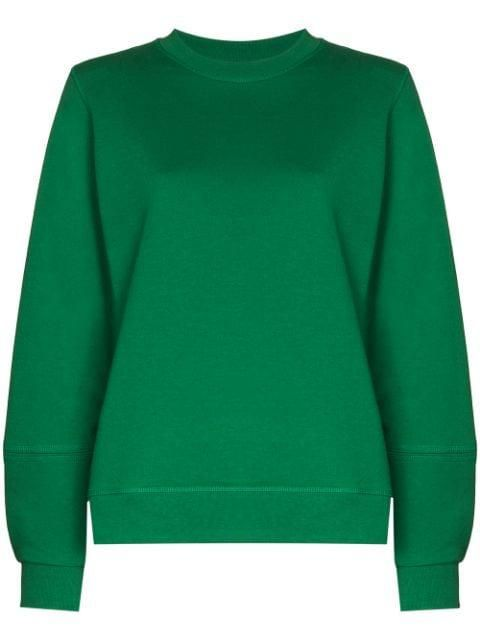 Logo-print Crew-neck Sweatshirt