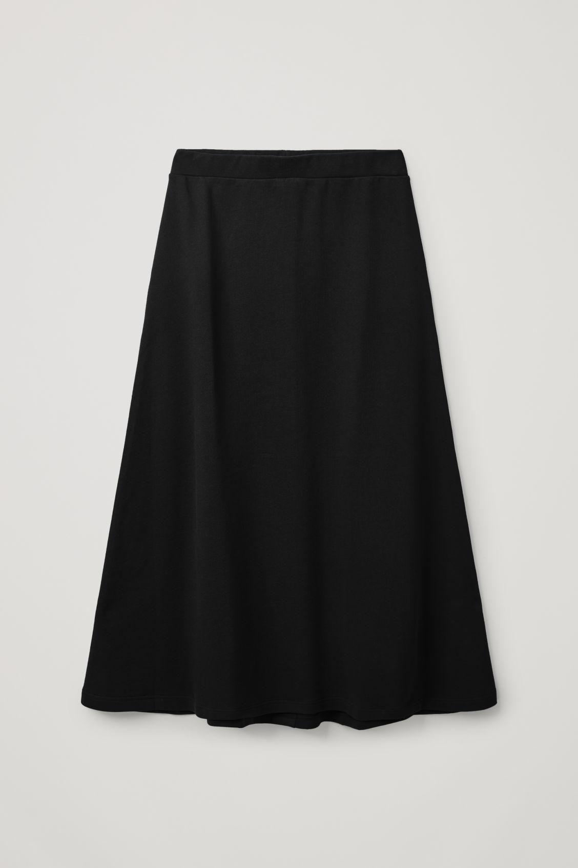 A-line Sweatshirt Skirt