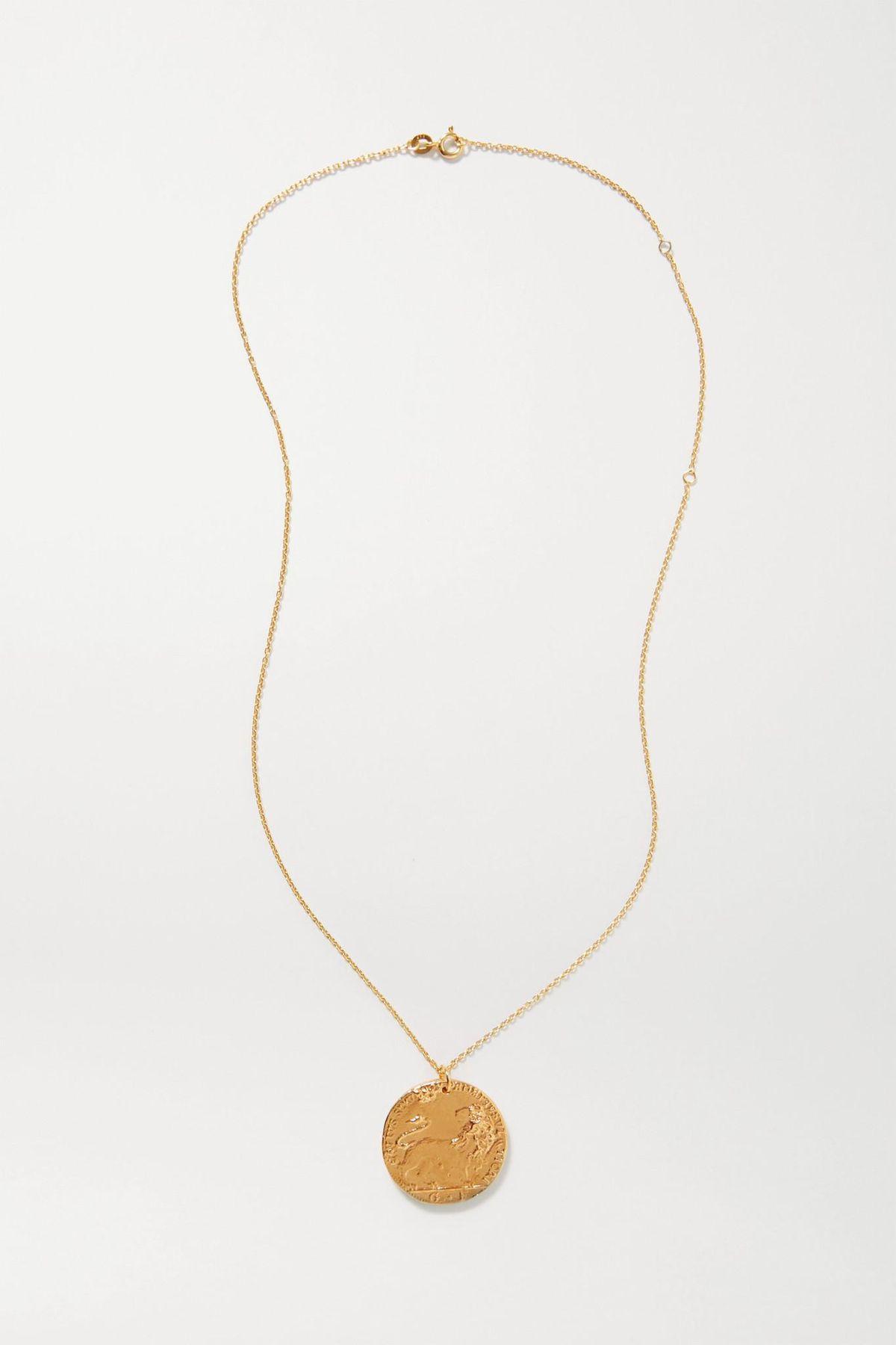 Il Leone Medallion Necklace
