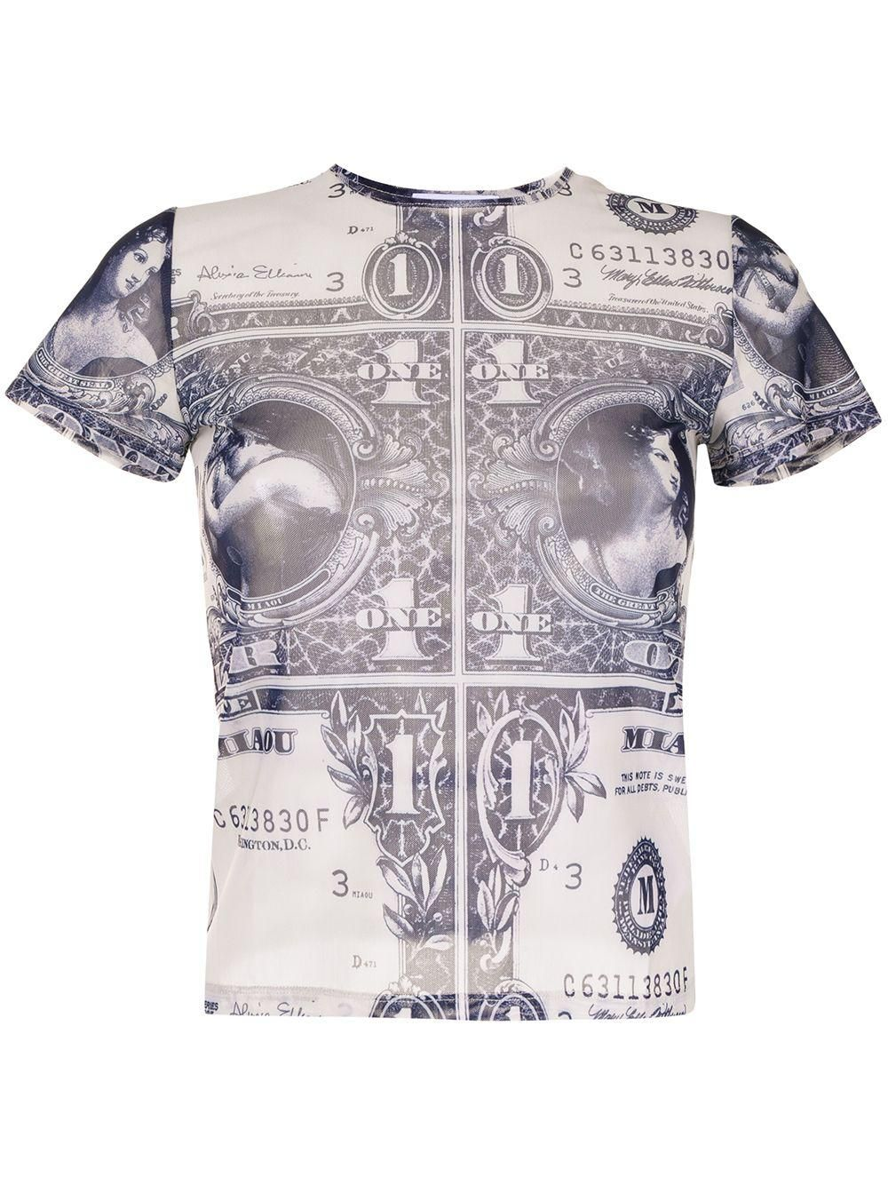 Mini Money Print T-shirt