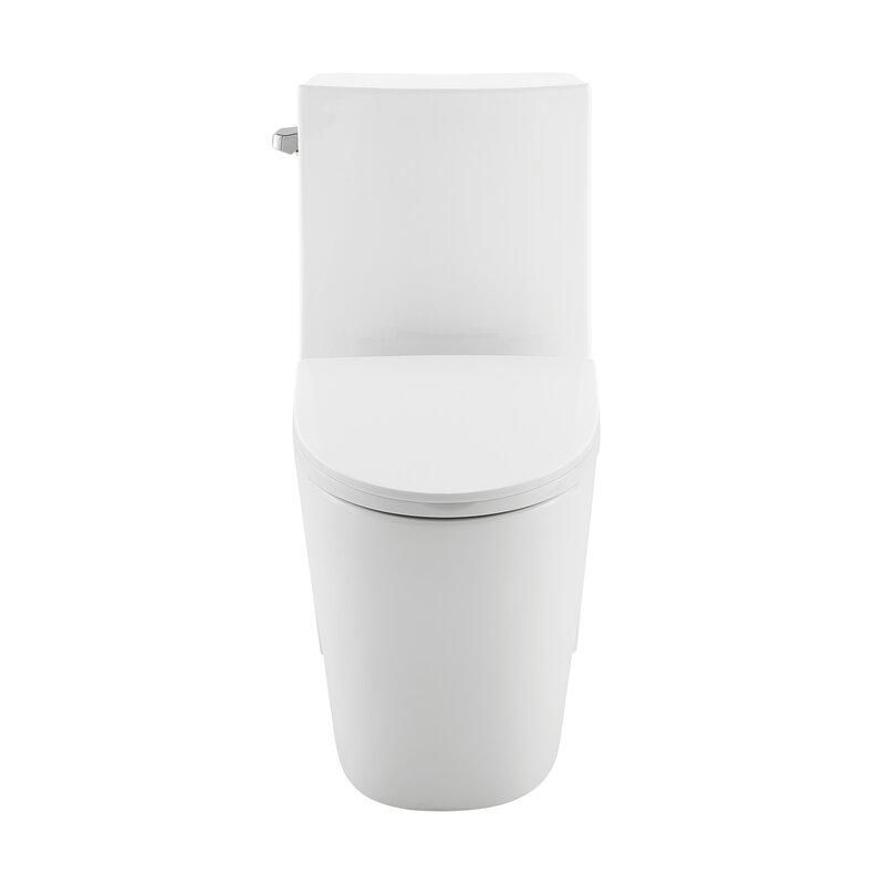 1.28 Water Efficient Elongated One-piece Toilet