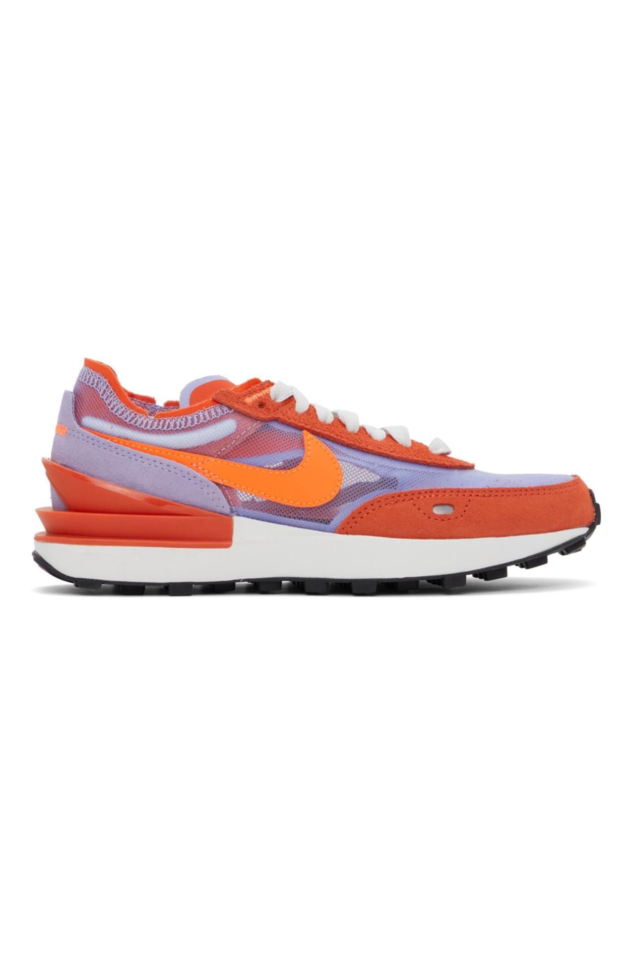 Orange & Purple Waffle One Sneakers