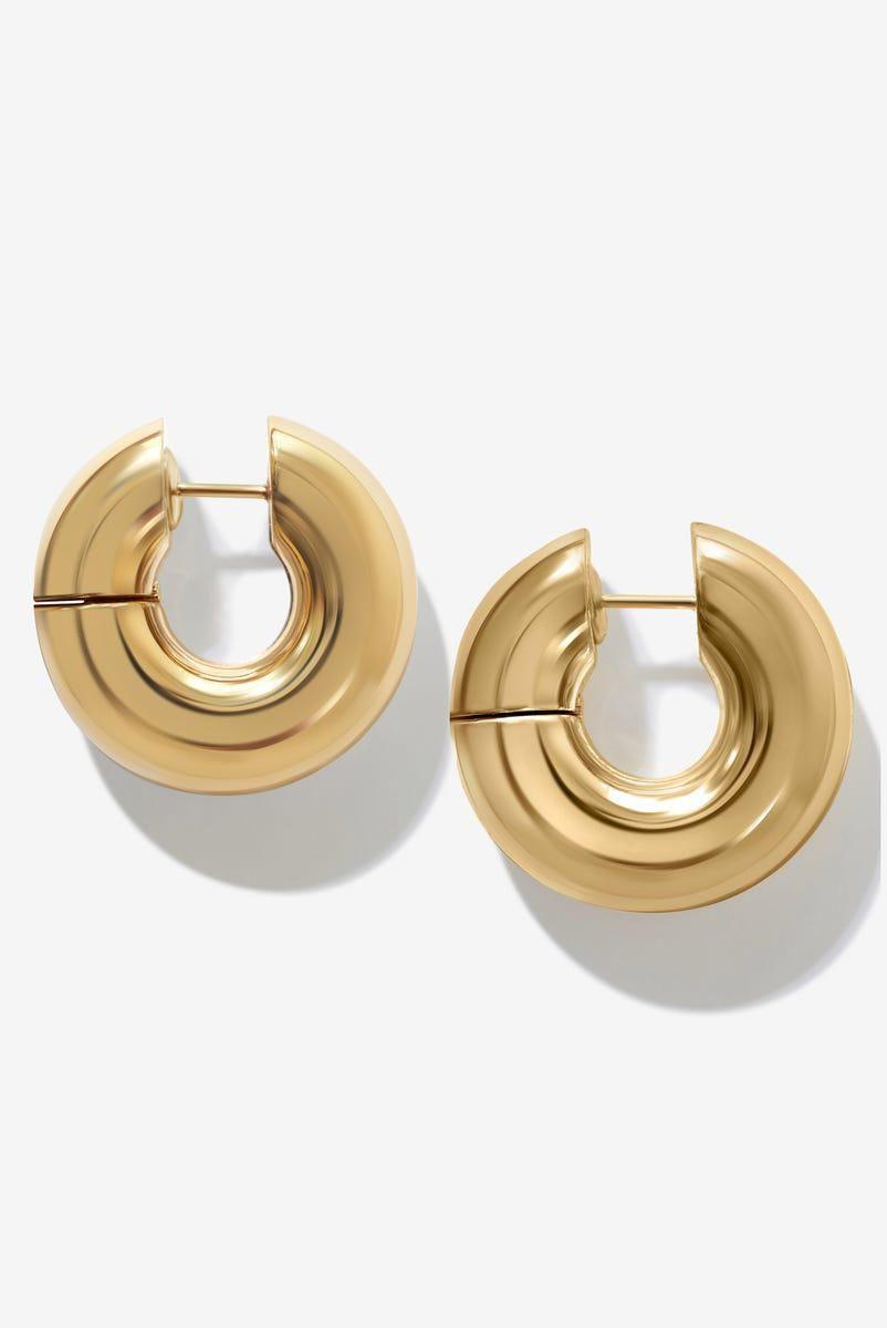 Vini Bagel Hoop Earrings