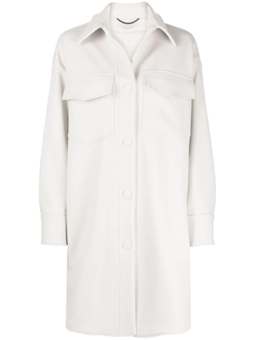 Kerry Wool Overshirt Coat
