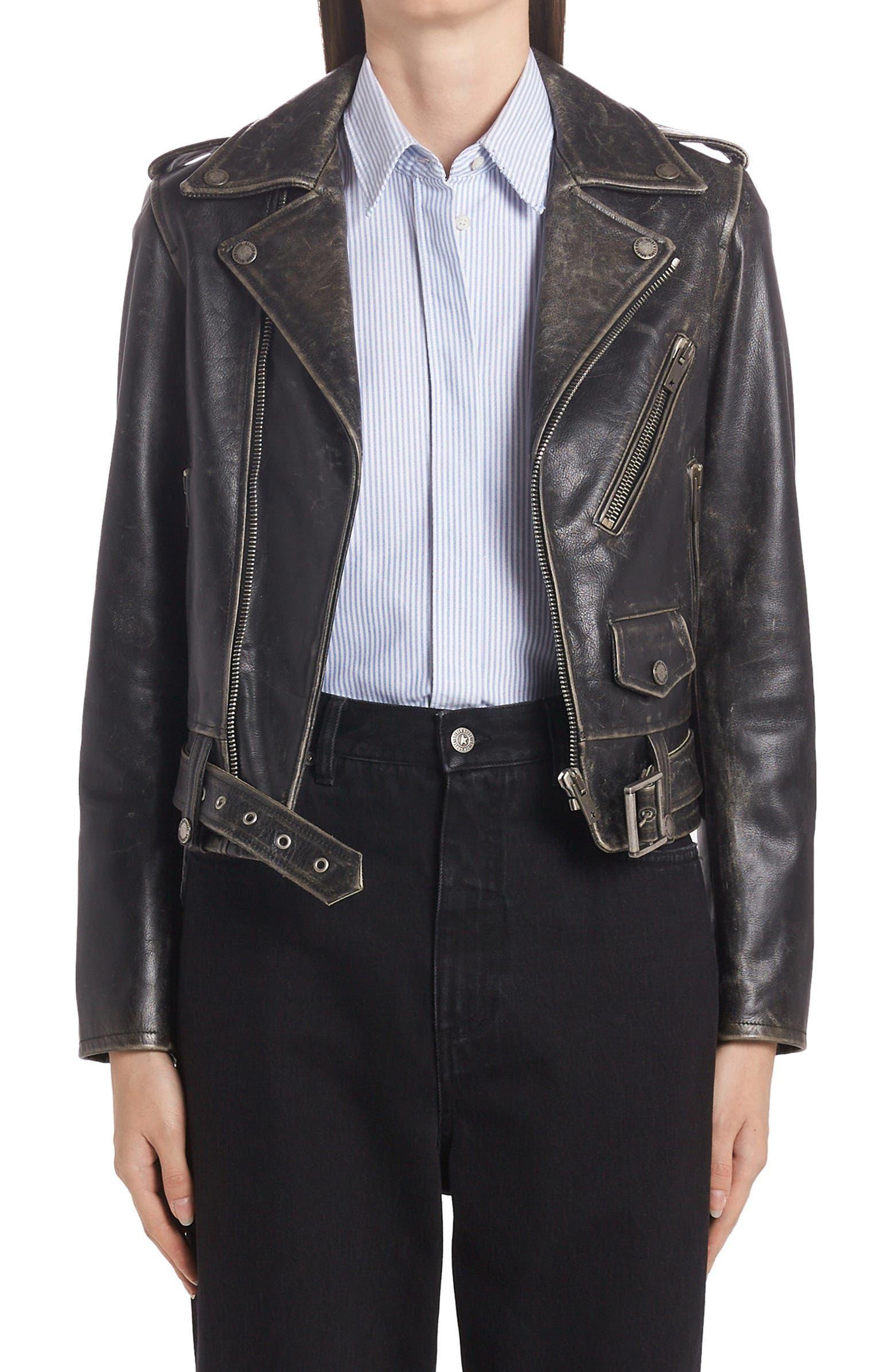 Chiodo Destiny Leather Moto Jacket