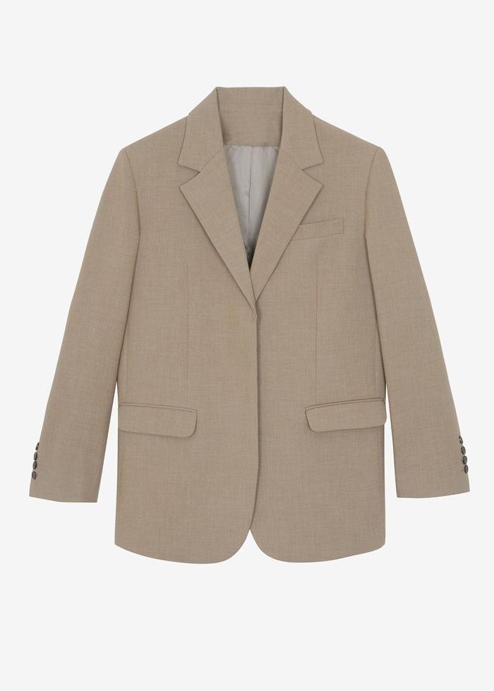 Concealed Button Blazer