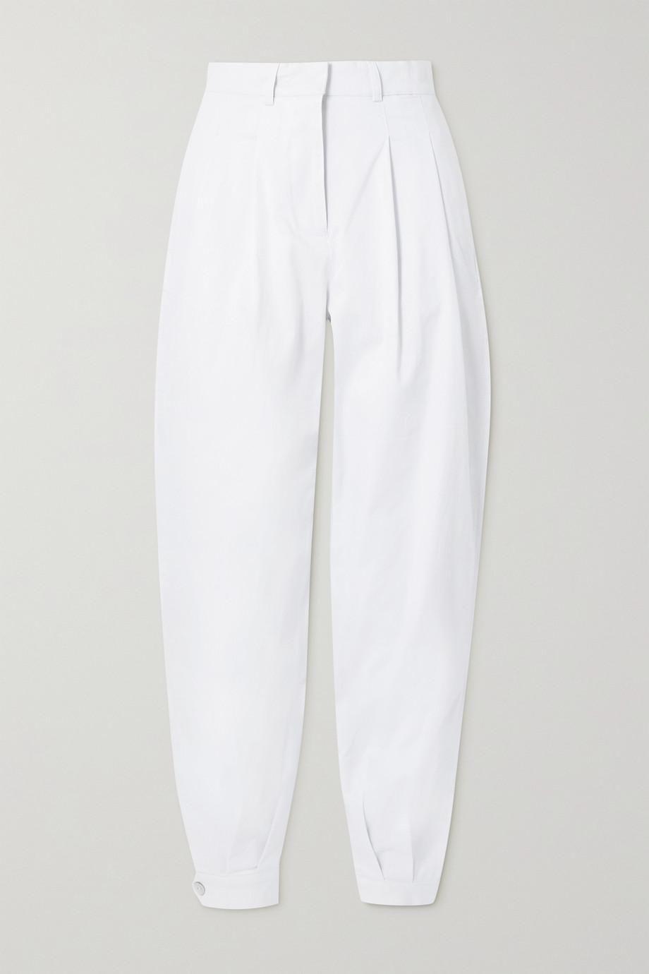 Al Boleo Cotton-blend Twill Tapered Pants