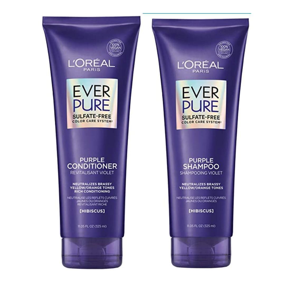 Sulfate-Free Purple Shampoo & Conditioner