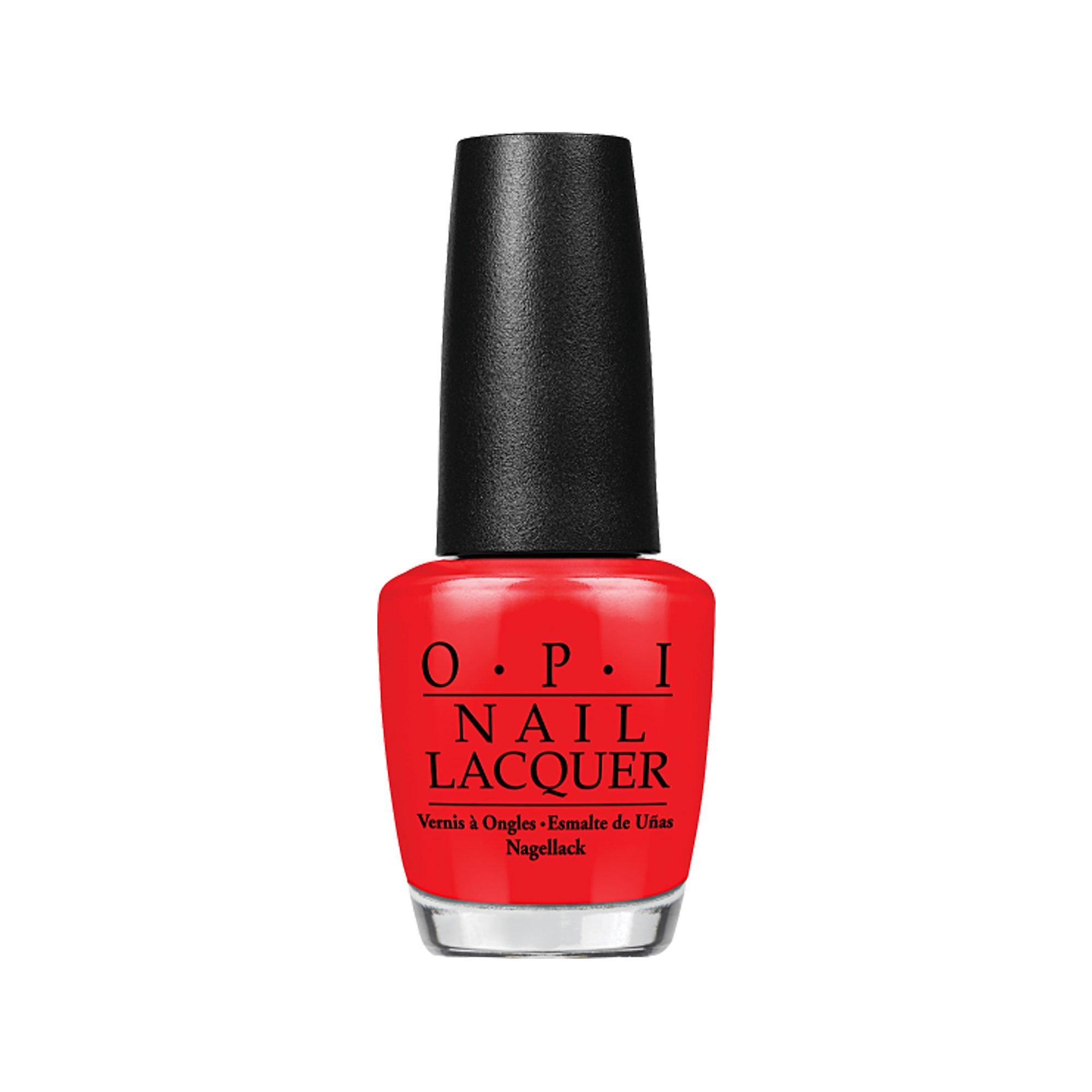 Nail Lacquer Nail Polish Big Apple Red