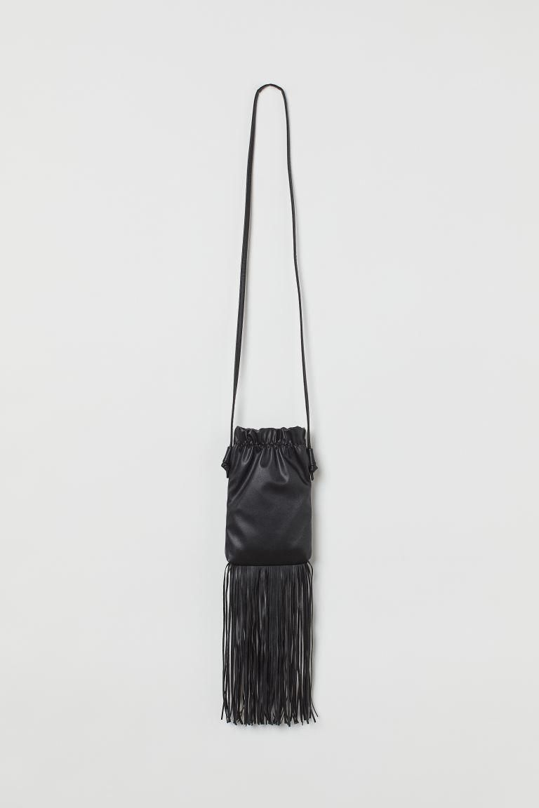 Fringed Cell Phone Bag