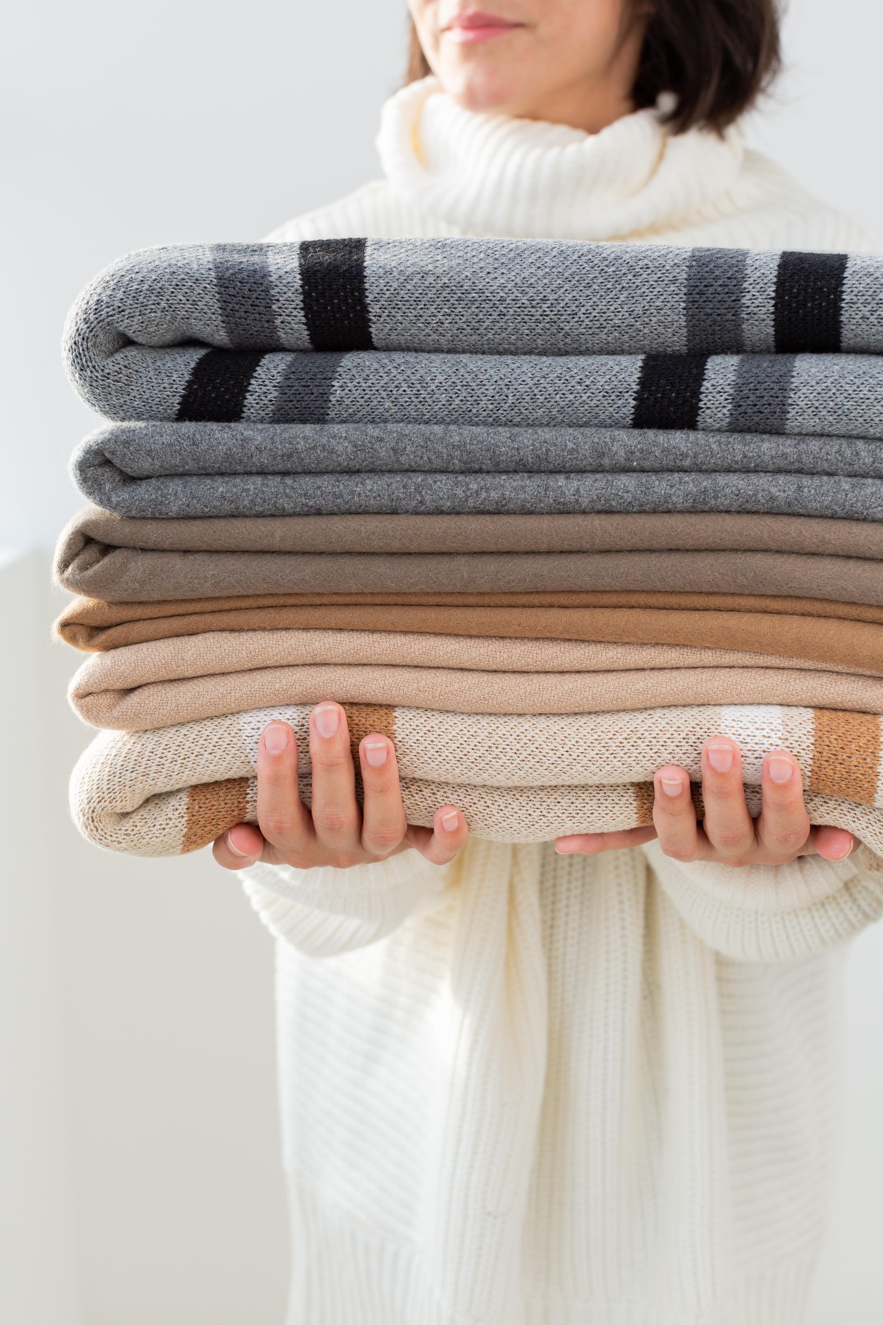 Luxury Natural Throw Blanket