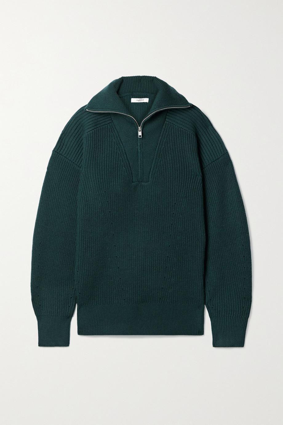 Benny Ribbed Merino Wool Sweater