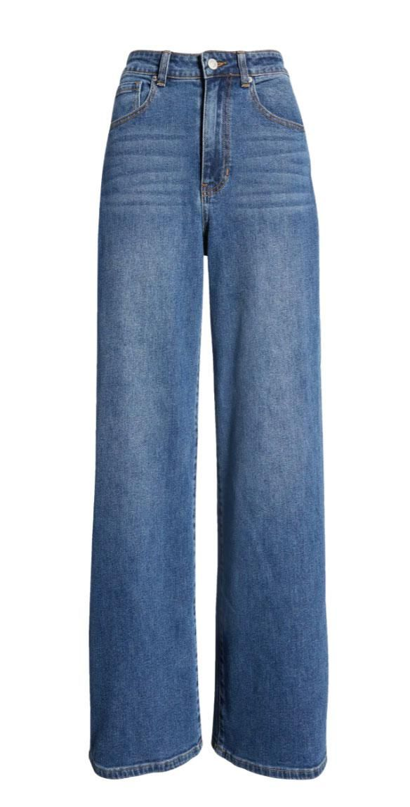 Everyday Wide Leg Jeans