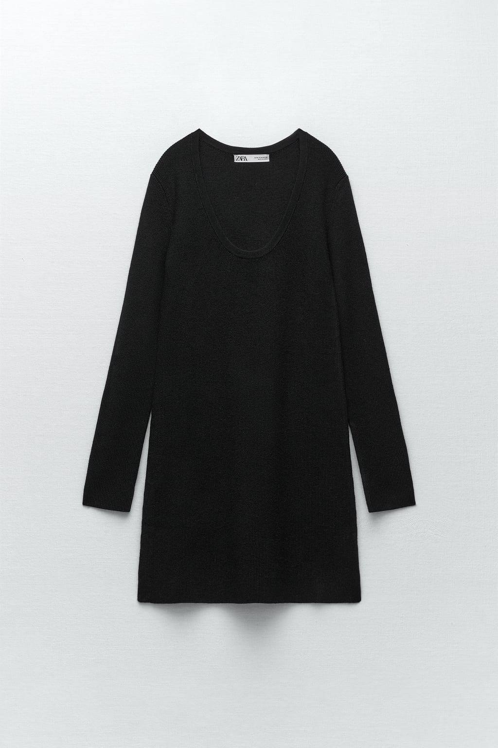 Wool Sweater with Side Slit
