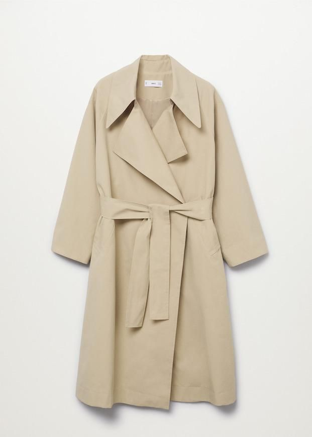 Long Flowy Trench Coats