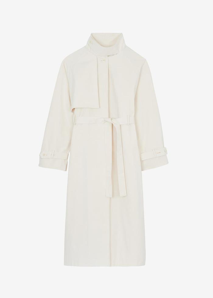 Rosamund Neck-strap Trench Coat