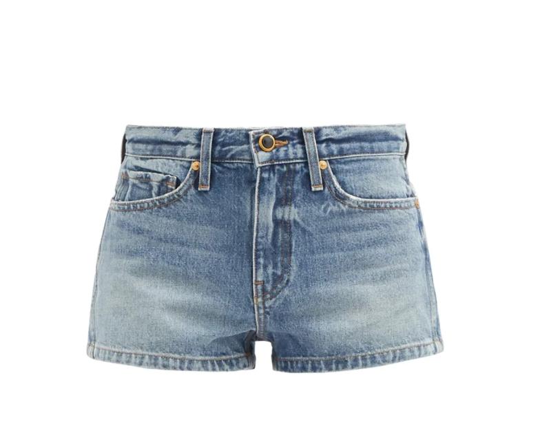 Charlotte Mid-rise Denim Shorts